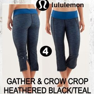 Gather & Crow Crop Heathered Leggings